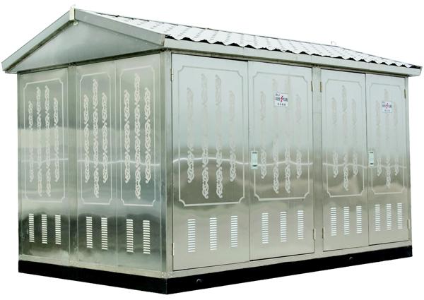 Yb(W)-12/0.4-630预装式箱式变电站
